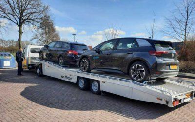 Onze VW's ID.3 gaan er om de beurt een paar dagen tussenuit!