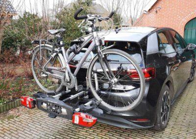 Deelslee met fiets